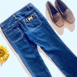 Michael Kors Jeans - 3/$15 Michael Kors MK Embellishment Jeans Size 6